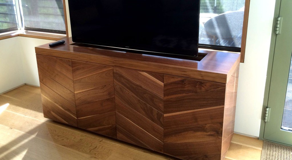 Fabulous Aspen Home Hideaway TV Stand and Media Cabinet - Villareal  MY56
