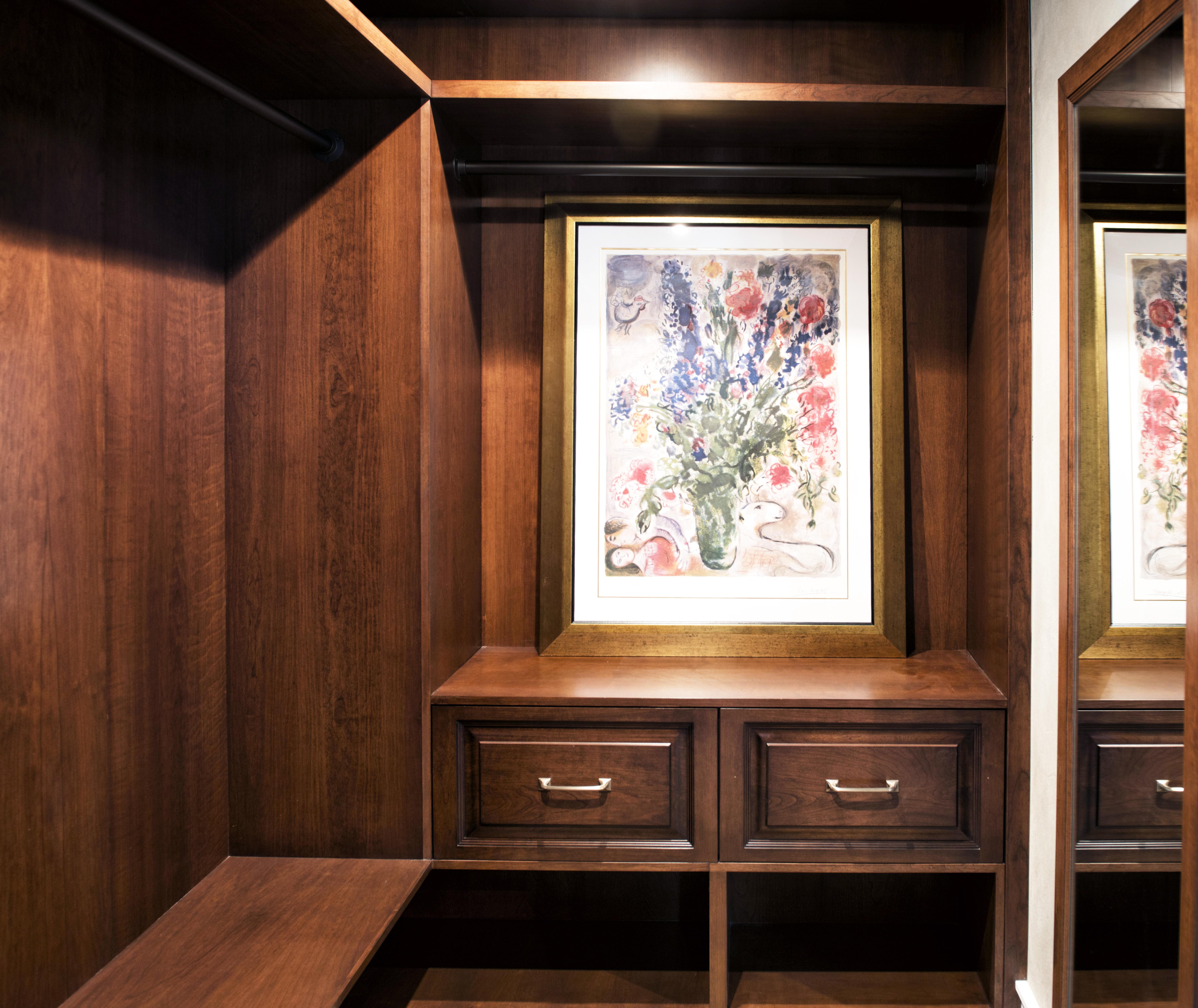 Custom Bedroom Closet Cabinetry Villareal Rasmussen